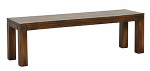 Attractive and Polished Wooden Hampton Bench 60