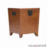 Attractive and Unique Wooden Storage Trunk by Southern Enterprises