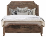 Attractive Cal King Styled Aria Wooden Bed