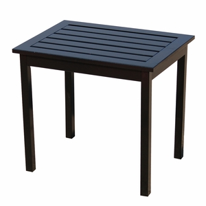 Attractive Contemporary Styled Black End Table by Southern Enterprises