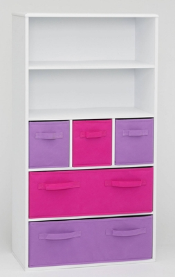 Attractive Coventry's Girl's Storage Bookcase by 4D Concepts