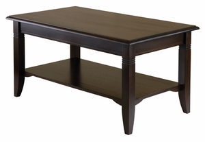 Winsome Wood Attractive Customary styled Nolan Coffee Table