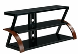Attractive Customary Styled Titan TV Stand by Office Star