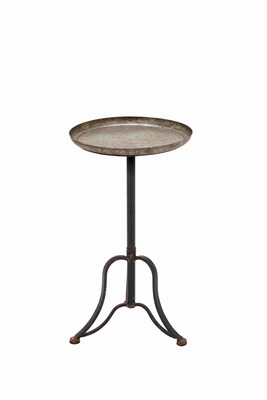 Attractive Francis Metal Accent Table Brand Benzara