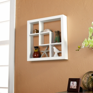 Attractive Madison Display Shelf White by Southern Enterprises