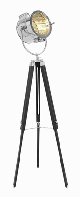Attractive Metal Wood Spot Light with Three Legged Tripod Brand Woodland