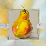 Attractive Painted Fruit Of The Day II Painting by Yosemite Home Decor
