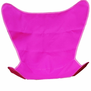 Attractive Pink Replacement Cover for Butterfly Chair by Alogma