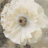 Attractive Styled Blooming Softly I Painting by Yosemite Home Decor