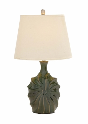 Attractive Styled Classy Ceramic Table Lamp by Woodland Import