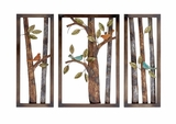 Attractive Styled Classy Metal Wall Plaque by Woodland Import