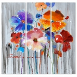 Attractive Styled Floral Feelings Adorable Painting by Yosemite Home Decor