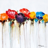 Attractive Styled Jeweled Poppies I Classy Styled by Yosemite Home Decor