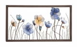 Attractive Styled Metal Flower Wall D�cor by Woodland Import