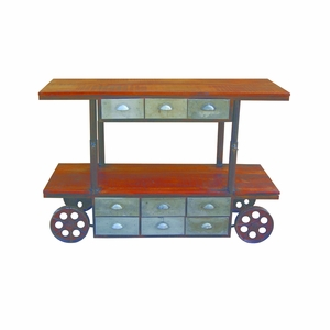 Attractive Styled Multi-Function Utility Cart by Yosemite Home Decor