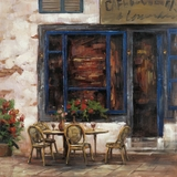 Attractive Styled Rue De Bicyclette II Painting by Yosemite Home Decor