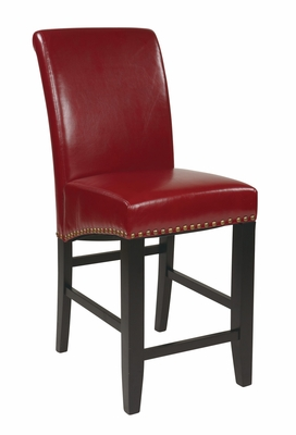 Attractive Styled Smart Parsons Barstool by Office Star