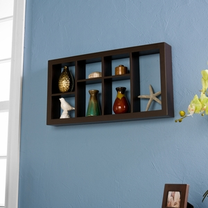 Attractive Styled Taylor Display Shelf Espresso by Southern Enterprises