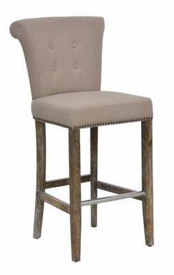 Attractive Styled Vincente Barstool - Tan
