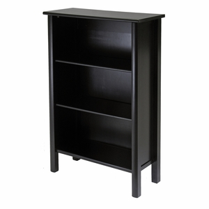 Attractive Unique Styled Liso 4 -Tier Bookcase by Winsome Woods
