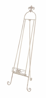 Attractive Unique Styled Metal Floor Easel by Woodland Import