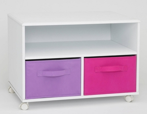 Attractive Vertigo's Vibrant Girl's TV Cart by 4D Concepts