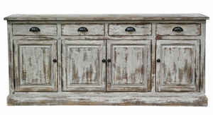 Attractive Windsor 4 Drawer 4 Door Sideboard