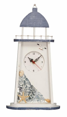 Attractive Wooden Lighthouse Clock with Modern and Elegant Design Brand Woodland