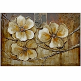 Attractively Painted Bloom of a Plant I Painting by Yosemite Home Decor