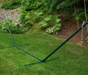 Attractively Styled 15' Hammock Steel Stand by Alogma