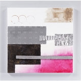 Attractively Styled Bubblegum Pink III Painting by Yosemite Home Decor