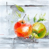 Attractively Styled Fresh Apples II Classy Painting by Yosemite Home Decor