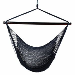 Attractively Styled Hanging Caribbean Rope Chair by Algoma