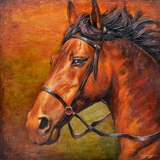 Attractively Styled Ready To Run I Painting by Yosemite Home Decor