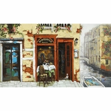 Attractively Styled Venetian Canal Artwork by Yosemite Home Decor