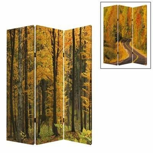 Autumn Journey Screen Wall Decor with Attractive Printed Design Brand Screen Gem