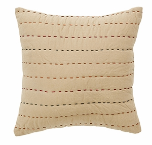 "Autumn Kaleidoscope Quilted Pillow 10x10"" VHC Brand - 12296 Brand VHC"