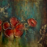 Awestruck Styled Dogwood Daze II Amazing Painting by Yosemite Home Decor