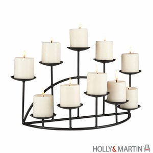 Awestruck Styled Holly & Martin Preston Candelabra by Southern Enterprises
