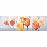 Awestruck Styled Tulip Splendor II Natural Painting by Yosemite Home Decor