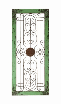 Azure Rustic Style Wooden and Metal Wall D�cor Brand Woodland