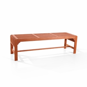 Backless Three Seater Bench by Vifah