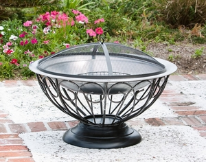 Bagheria Fire Pit, Effective And Enchanting Heating Decor by Well Travel Living