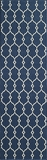 "BAJA0BAJ-2NVY-BAJA COLLECTION 2'-3"" x 7'-6"" Runner by Momani Rugs"