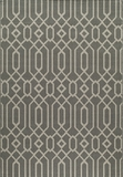 "BAJA0BAJ-3GRY-BAJA COLLECTION 1'-8"" X 3'-7"" by Momani Rugs"