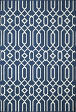 "BAJA0BAJ-3NVY-BAJA COLLECTION 1'-8"" X 3'-7"" by Momani Rugs"