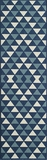 "BAJA0BAJ-5BLU-BAJA COLLECTION 2'-3"" x 7'-6"" Runner by Momani Rugs"