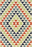 "BAJA0BAJ-5MTI-BAJA COLLECTION 2'-3"" x 7'-6"" Runner by Momani Rugs"