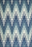 "BAJA0BAJ-6BLU-BAJA COLLECTION 3'-11"" x 5'-7"" by Momani Rugs"