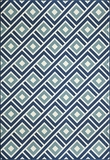 "BAJA0BAJ-7BLU-BAJA COLLECTION 1'-8"" X 3'-7"" by Momani Rugs"